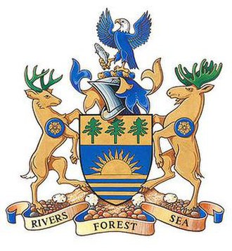 Region of Queens Municipality - Image: Region of queens municipality coat of arms