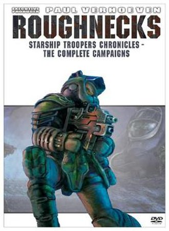 Roughnecks: Starship Troopers Chronicles - The DVD cover of Roughnecks: Starship Troopers Chronicles - The Complete Campaigns