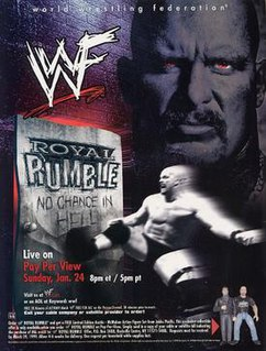 Royal Rumble (1999) 1999 World Wrestling Federation pay-per-view event