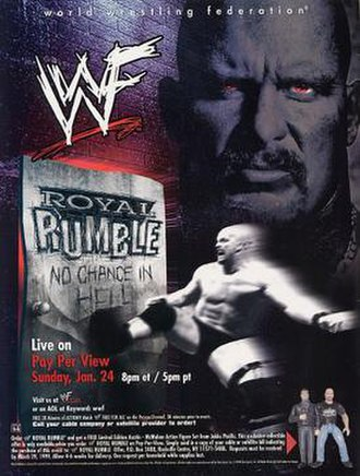 Royal Rumble (1999) - Promotional poster featuring Stone Cold Steve Austin