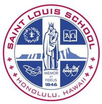 Saint Louis School - Image: Saint Louis School crest