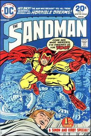 Sandman (DC Comics) - Image: Sandman 1974 issue 1