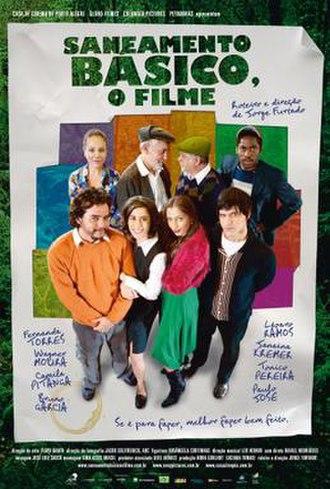 Saneamento Básico - Theatrical release poster