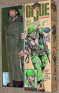 Sgt rock wikipedia rock figures was released by hasbro as part of the 12 gi joe line including four other characters from the comic book series bulldozer fandeluxe Image collections