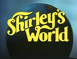 Series title over a globe of the world