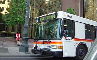 Suburban Mobility Authority for Regional Transportation public transit operator in suburban Metro Detroit, Michigan