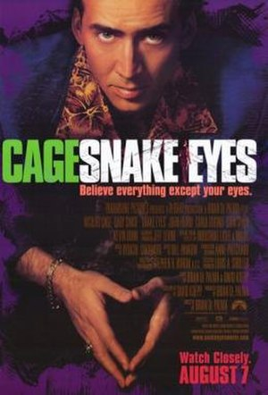 Snake Eyes (film) - Theatrical release poster