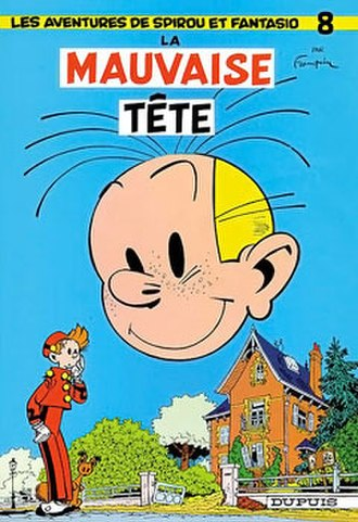 La mauvaise tête - Cover of the Belgian edition
