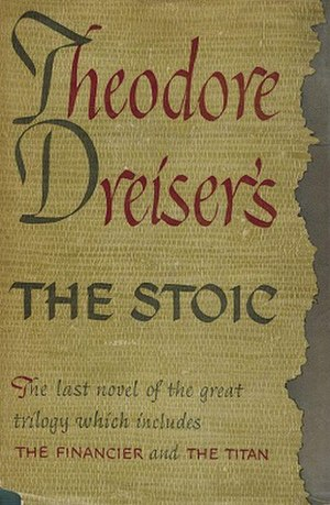 The Stoic - First edition