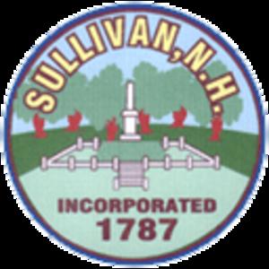 Sullivan, New Hampshire - Congregational Church c. 1915