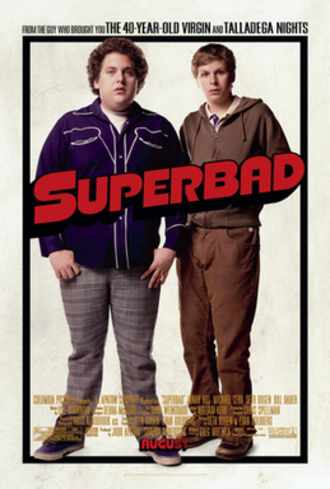 Superbad (film) - Theatrical release poster