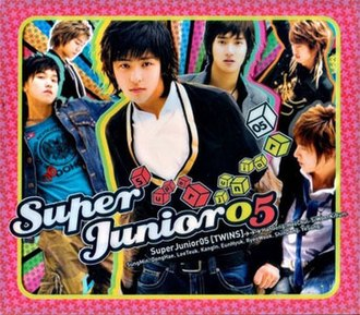 Twins (Super Junior album) - Image: Superjunior 05album