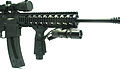 Tactical Rifle with Vizeri VZ230 Compact Tactical LED Flashlight.jpg