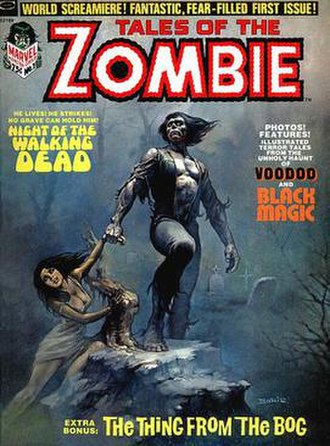 Zombie (comics) - Image: Tales Of The Zombie 1