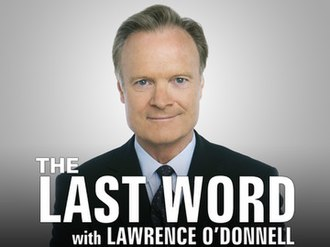 The Last Word with Lawrence O'Donnell - Image: The last word with lawrence odonnell 0