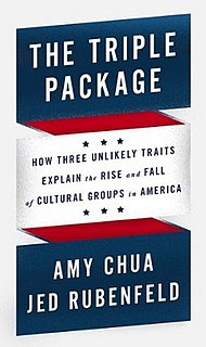 <i>The Triple Package</i> 2014 book by Amy Chua