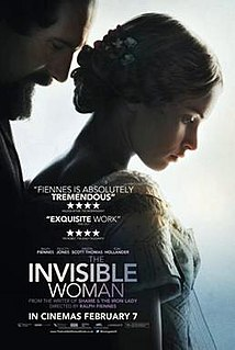 <i>The Invisible Woman</i> (2013 film) 2013 film by Ralph Fiennes