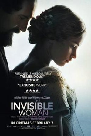 The Invisible Woman (2013 film) - Theatrical release poster