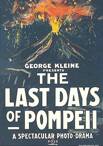 The Last Days of Pompeii (1913 film) - Poster to the U.S. theatrical release of The Last Days of Pompeii