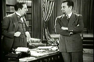 Lonely Wives - Edward Everett Horton, in dual roles as Richard and Felix, the Great Zero.