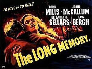 The Long Memory - Original British 1953 quad film poster
