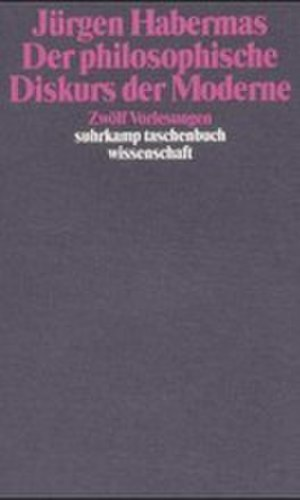 The Philosophical Discourse of Modernity - Cover of the German edition
