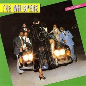 Headlights (album) - Image: The Whispers Headlights album