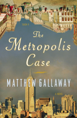 The Metropolis Case - Front cover of hardcover edition.