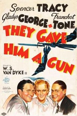 They Gave Him a Gun - Theatrical release poster