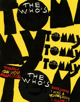 The Who's Tommy - Broadway promotional poster