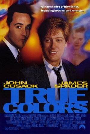 True Colors (1991 film) - Theatrical release poster