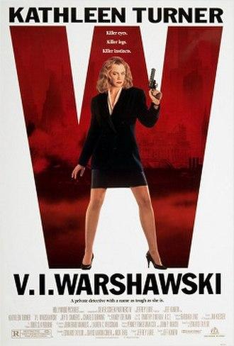V.I. Warshawski (film) - Film poster