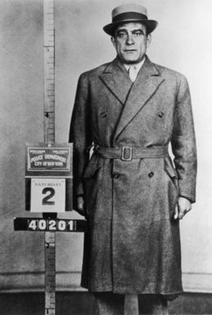 Vito Genovese - Vito Genovese at the time of his arrest August 2, 1958 in New York City.