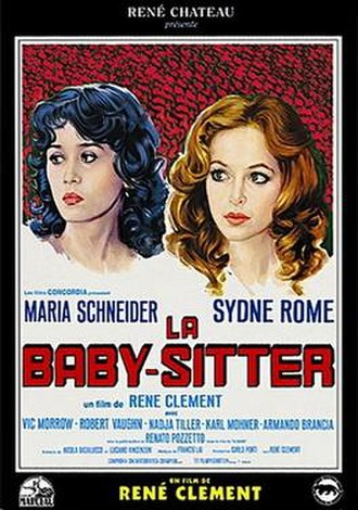 Wanted: Babysitter - French film Poster