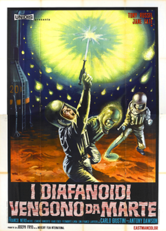 War of the Planets (1966 film) - Italian Theatrical release poster