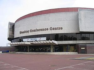 Eurovision Song Contest 1977 - Wembley Conference Centre, London – host venue of the 1977 contest.