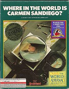 Where in the World Is Carmen Sandiego 1985 Cover.jpg