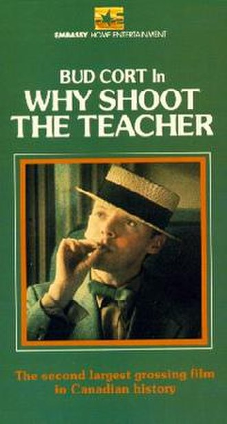 Why Shoot the Teacher? - VHS box art