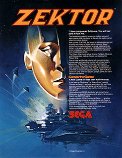 <i>Zektor</i> 1982 video game