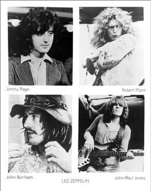Led Zeppelin North American Tour 1973 - Promotional poster of Led Zeppelin, 1973