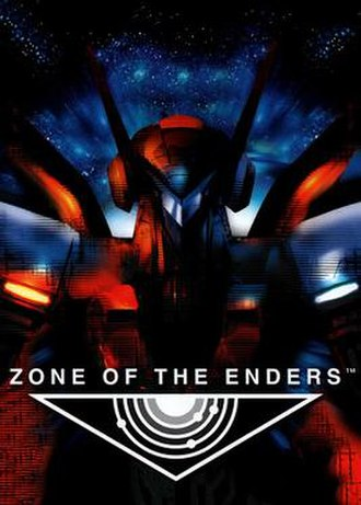 Zone of the Enders (video game) - Image: Zone of the Enders Cover