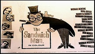 <i>The Sandwich Man</i> (1966 film) 1966 British comedy film directed by Robert Hartford-Davis
