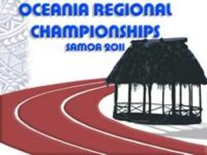 2011 Oceania Athletics Championships - Image: 2011 Oceania Championships Logo