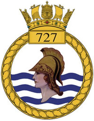 727 Naval Air Squadron - 727 NAS badge