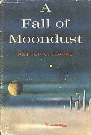 A Fall of Moondust - Cover of the first edition