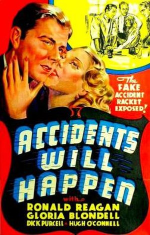 Accidents Will Happen (film) - Theatrical release poster