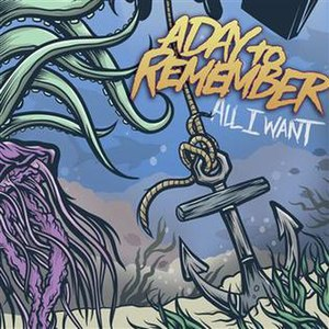 All I Want (A Day to Remember song) - Image: Adtr alliwant