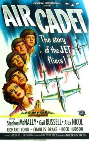 Air Cadet (film) - Film poster by Reynold Brown