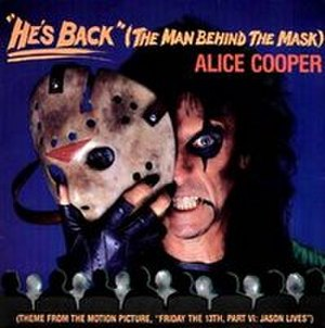 He's Back (The Man Behind the Mask) - Image: Alice Cooper The Man Behind The Mask