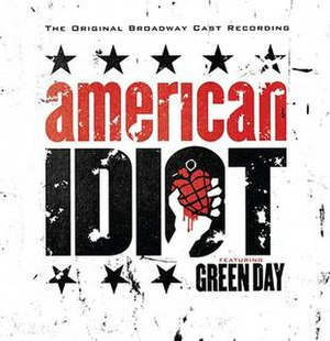 American Idiot: The Original Broadway Cast Recording - Image: American Idiot soundtrack cover